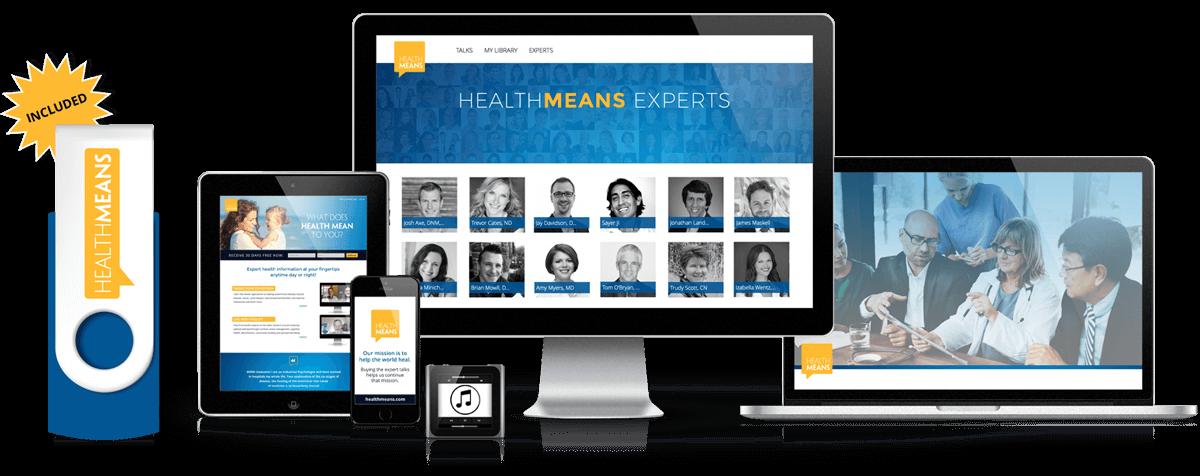 HealthMeans Spotlight - Online + Flash Drive Access